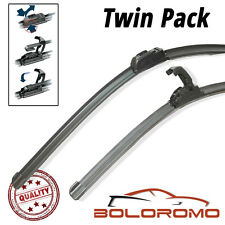 "Dynamic Wiper Blades Lexus IS 200 1999 22""19"" Aero Flat Windscreen U-Hook Arm"