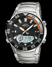 Casio Watch Marine Gear Grafico di marea Fasi lunari 100m amw710d UK Venditore