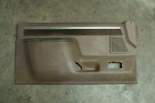 87 88 89 90 91 F150 F250 F350 Bronco Driver side Door Panel Tan Beige