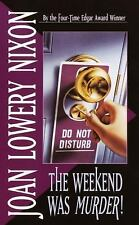 Law at Work: The Weekend Was Murder by Joan Lowery Nixon (1994, Paperback)