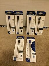 Your Choice Cross Ballpoint Pen Refills Black Blue Medium Fine Broad Lot 4 New