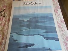 """Jerry Schurr, Summer Gallery, """"Shadow Lake"""",1981 poster"""