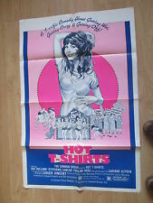 "'HOT T-SHIRTS' 1980 US COMEDY  FILM ORIGINAL US MOVIE POSTER  ""27 x 41"""