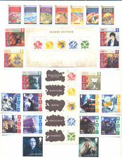 Great Britain-Isle of Man Harry Potter complete mnh collection
