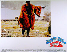 McCABE AND MRS MILLER 1971 Warren Beatty Robert Altman LOBBY CARD #8