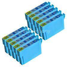 10 kompatible Tintenpatronen cyan für den Drucker Epson Office BX305F S22