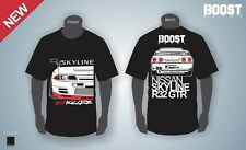 Skyline GTR32 Drift T-Shirt HKS Tomei Boost RB Godzilla