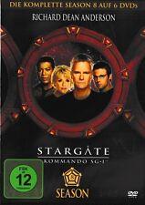 STARGATE SG-1 SEASON 8 (Box-Set 6 DVDs) NEU+OVP