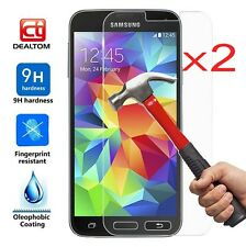 2X Tempered Glass Screen Protector Guard Film For Samsung Galaxy S7