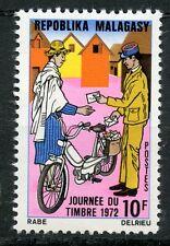 STAMP / TIMBRE DE MADAGASCAR NEUF N° 501 ** JOURNEE DU TIMBRE 1972 / FACTEUR