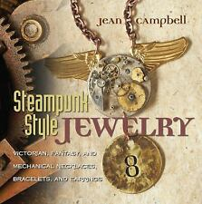 Steampunk Style Jewelry : Victorian, Fantasy, Mechanical Necklaces, Bracelet NEW