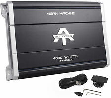 New Autotek MMA4000.1D 4000 Watt Mono Class D Amplifier Mean Machine Car Amp