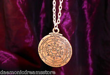 ENOCHIAN AMULET FOR INFLUENCE &  POWER CONSECRATED Occult Magic Magick Wicca