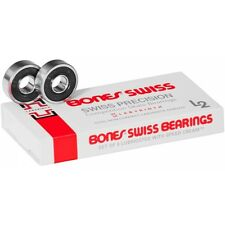Bones Swiss Labyrinth 2 Bearings - Pack of 8 + Free Sticker
