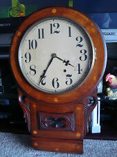 Large Antique Wall Clock - Looks Like Parts are Complete - Needs TLC - Project