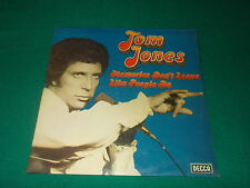 Tom Jones   Memories Don't Leave Like People Do   lp usato