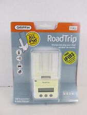 GRIFFIN RoadTrip iPod FM Transmitter and Car Charger (white)