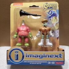 Fisher Price Imaginext SPONGEBOB Movie Mr.Supera Wesomeness & Sour Note NIP 2014