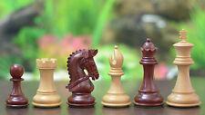 Staunton Schachfiguren- gezäumte Springer –Rosenholz/ Buchsbaumholz -chessbazaar