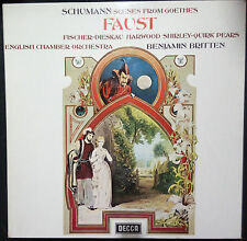SCHUMANN - SCENES FROM FAUST DOUBLE VINYL LP BOX SET AUSTRALIA