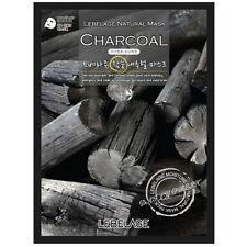 8 Pcs Charcoal Lebelage Natural Mask Facial Essence Sheet Pack Korea Beauty