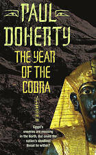The Year of the Cobra (Ancient Egyptian Mysteries), Good Condition Book, Doherty