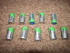 NEW *LOT OF TEN* Xeno Energy Lithium Thionyl Chloride C Battery XL-145F
