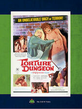 Torture Dungeon, Excellent DVD, Patricia Garvey, George Box, Donna Whitfield, Ha