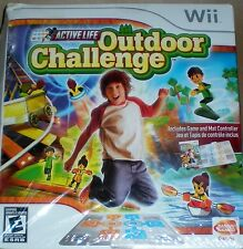 NINTENDO WII ACTIVE LIFE OUTDOOR CHALLENGE 722674800068 NEW FACTORY SEALED BOX