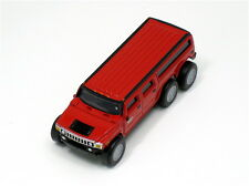 SUNTORY Coffee BOSS HUMMER LIMOUSINE Diecast Pull Back Mini Car Model H2 Red