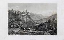 Burg Strechau Lassing Steiermark Erzbischof von Salzburg Hirte Rind Kuh Alm