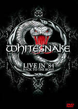Whitesnake: Live in '84 - Back to the Bone DVD NTSC ALL AREAS( FREE SHIPPING)