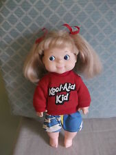 "VeryCute 13"" Soft Plastic Vinyl Kool Aid Kid Doll - fully dressed EEGEE 13KA3-89"