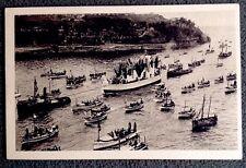 CPSM. MARSEILLE. 13 - Juin 1931. Flotille Mariale. Fêtes du Couronnement. Port.