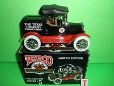 1988 TEXACO OIL 1918 FORD RUNABOUT TRUCK #5 IN SERIES ERTL NEW MIB
