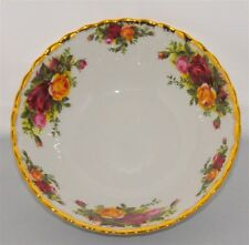 1-Royal Albert Old Country Roses  Soup -Cereal Bowl  England ( 10  Available)