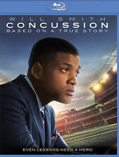Concussion Blu-ray Includes Digital Copy; UltraViolet NEW Will Smith Slipcover