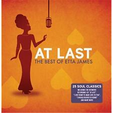 ETTA JAMES AT LAST THE BEST OF CD NEW