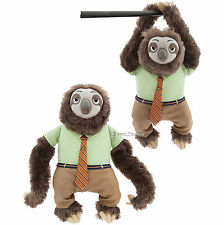 """Zootopia Flash the Sloth Plush Soft Toy Doll 14"""" Disney Store SOLD OUT ONLINE"""