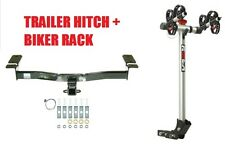 07-14 FORD EDGE / 07-15 LINCOLN MKX TRAILER HITCH & ROLA 2 BIKE CARRIER RACK NEW