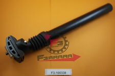 F3-100338 Canotto tubo Sella mm 27,2 AMMORTIZZATO Alluminio NERO Bici Bicicletta