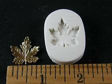 Maple Leaf Polymer Clay Mold (#MD1483)