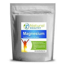 60 Magnesium Pills Oxide mineral supplement vital for healthy muscles & bones