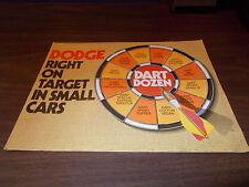 1974 Dodge Dart Dozen Brochure /Swinger/ Sport Hang 10 /Convertible and More