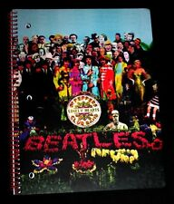 The Beatles Sgt. Peppers Theme Spiral Notebook