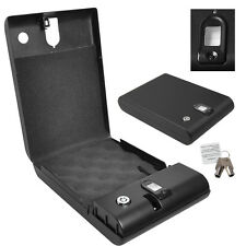 Biometric 100 Fingerprint Keyless Gun/Pistol Portable Safe Biobox Travel Car