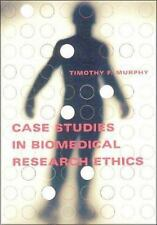 Case Studies in Biomedical Research Ethics (Basic Bioethics)-ExLibrary
