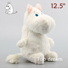 "MOOMIN Muumi Sitting Large 12.5"" Plush Soft Toy Stuffed Cuddly Doll Teddy Gift"