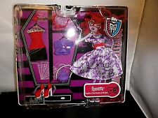 Monster High OPERETTA DELUXE FASHION Doll 2 Outfit Set & Accessories Pack NEW