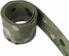 "Military Nylon Webbing 3/4"" mil-Spec-Woven- Multicam-2 Sided-Per 5-Yards"